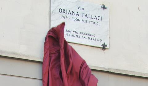 Arezzo - via Oriana Fallaci