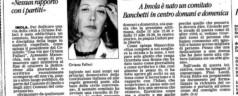"Rassegna Stampa ""Una Via per Oriana Fallaci"""