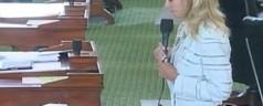 Texas: senatrice parla 13 ore a favore dell'aborto dopo la 20esima settimana