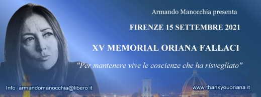 MEMORIAL ORIANA FALLACI XV EDIZIONE